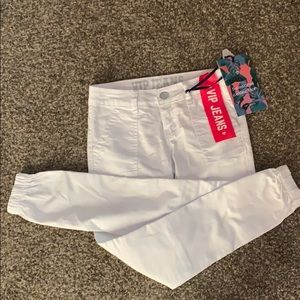 White ankle Jean size 1/2